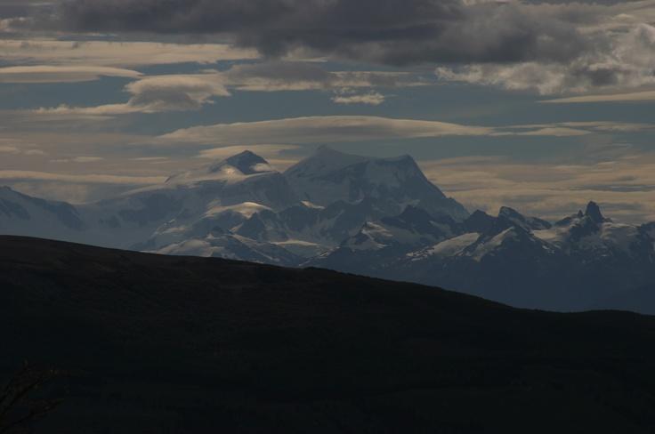Volcán San Valentín, Cima de Campo de Hielo San Valentín. Colindante a Campo de Hielo Norte.