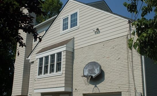This Is A View Of The Side And Rear Of The Home Shows The