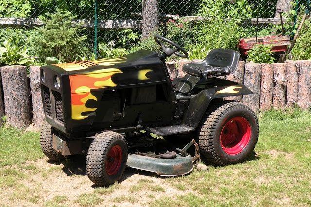 Riding Lawn Mower Paint : D ec b e g lawn
