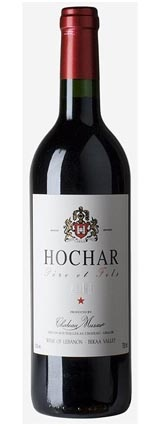 Lebanese Wine-Hochar Musar 2009...spicy with aromas of figs, dates, plums and cherries.