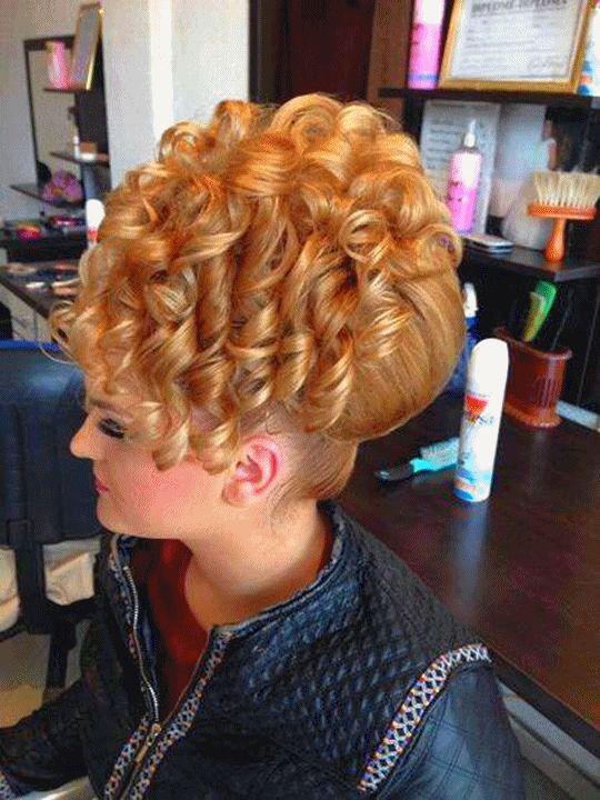 HD wallpapers hair in fancy bun