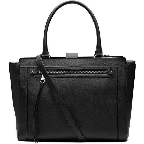 Witchery Anika Work Bag ($97) ❤ liked on Polyvore featuring bags, handbags, padded bag, laptop purse, tablet handbag, handle bag and laptop handbags