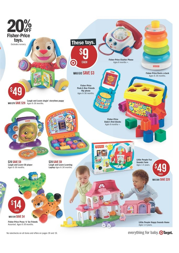 Target Catalogue Baby Products 2014, Fisher-Price Laugh And Learn Singin Storytime Puppy Products Image