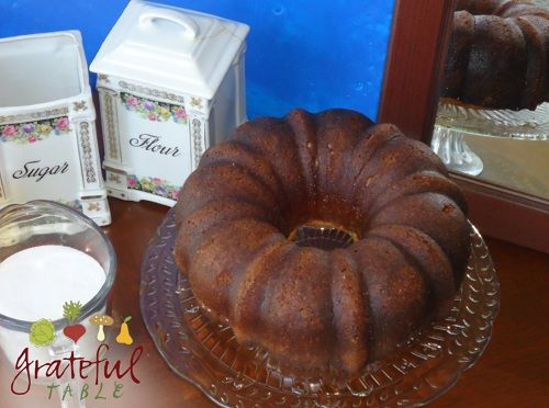 Baba Rum Cake With Or Without The Rum Still Awesome Grateful Table