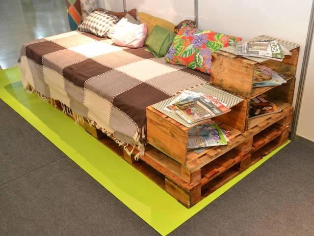 sofa-cama palets