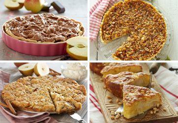 Skønne opskrifter på æblekager