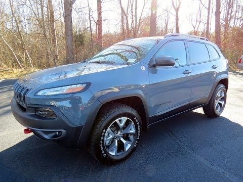 ▶ 2014 Jeep Cherokee Trailhawk 4X4 (V6 and 4 Cyl) Start Up, Exhaust, and In Depth Review - YouTube  ^,
