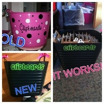clipboard storage!  I need to get to Target!  Thanks Polka Dot Patch!!