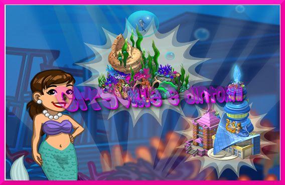 Fans di cityville-il blog: CityVille-Obiettivo Paradiso delle Sirene