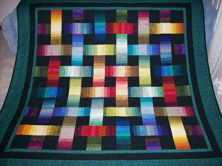 129 Best Images About Bright And Colourful Quilts