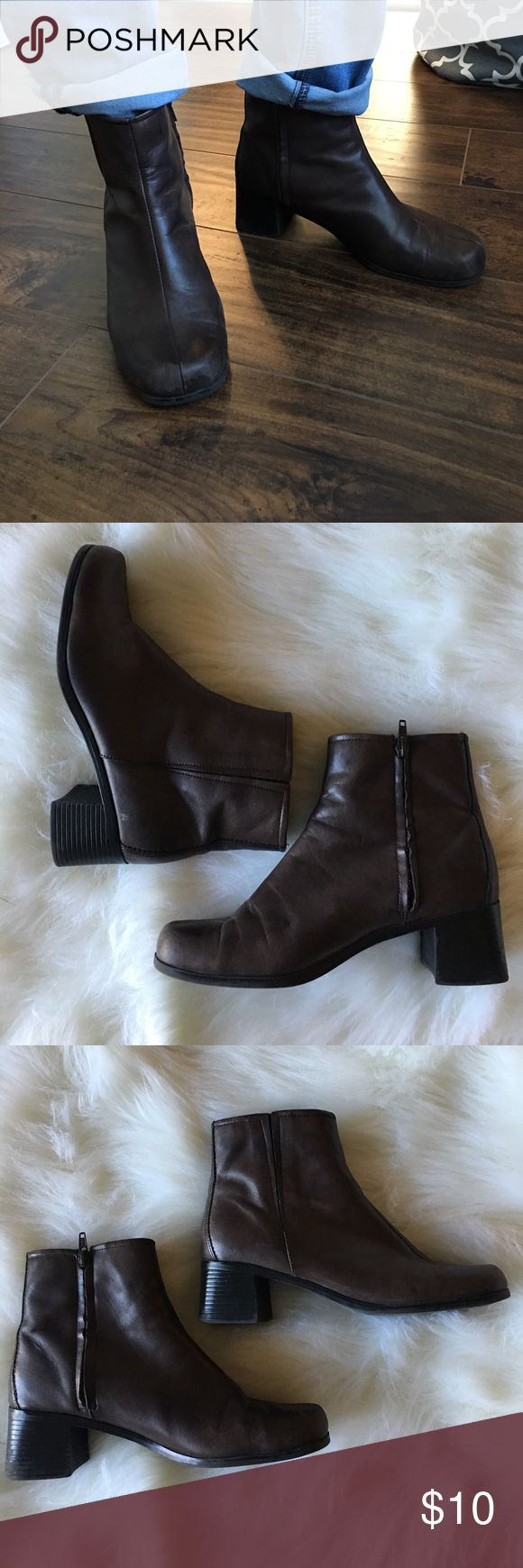 Ankle boots Good used condition. Some wear on front toe area. Smoke free and pet free home. Predictions Shoes Ankle Boots & Booties