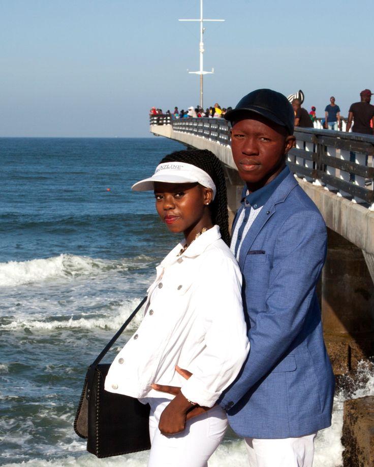 Xhosa initiate and girlfriend Port Elizabeth South Africa