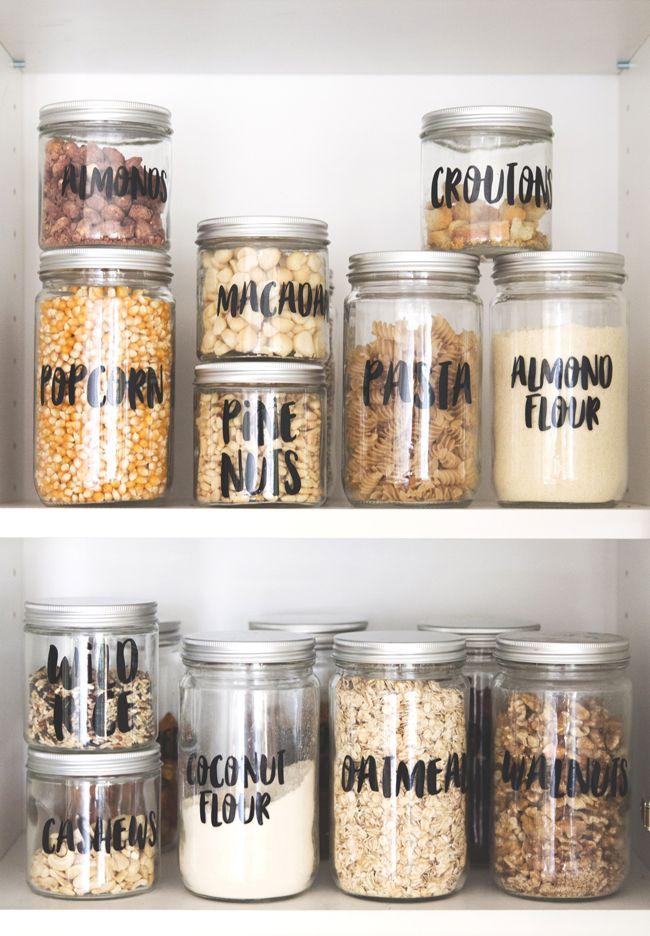 Best 25 Pantry Labels Ideas On Pinterest Organized