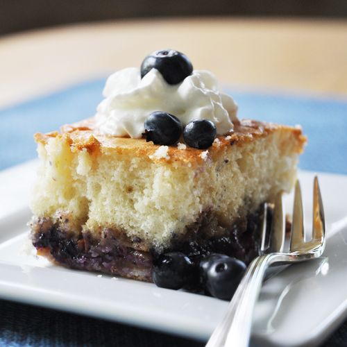 Peach Blueberry Cake Recipe