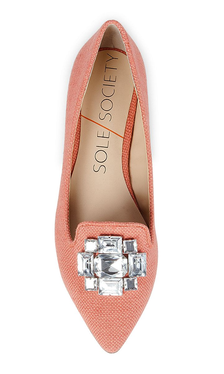 Jeweled spring flat   Sole Society Libry