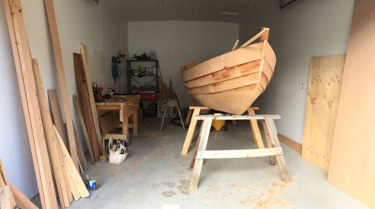 I started my Amesbury Dory, code name Dorkus, while still a student at the Northwest School of Wooden Boat Building.She came out of my desire for a small outboard powered skiff that had the classi…