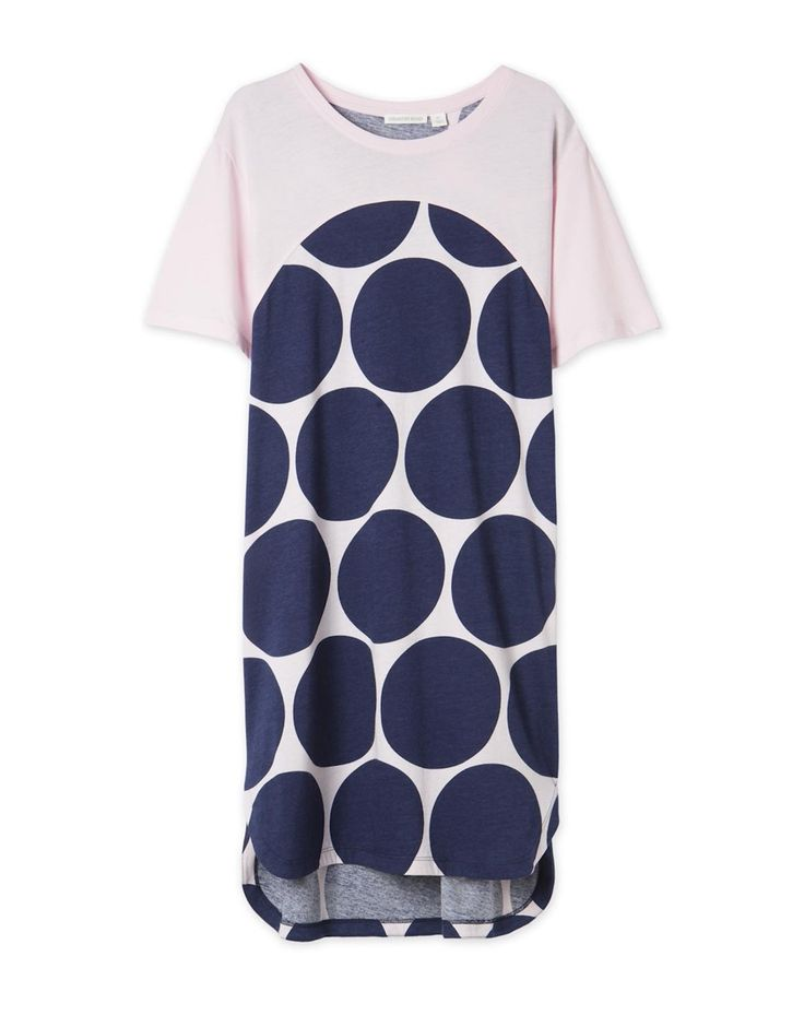 Circle Print Pyjama Nightie