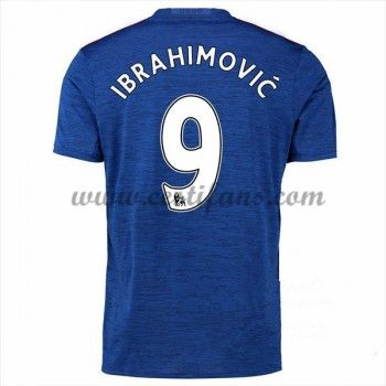 Manchester United Fotbalové Dresy 2016-17 Zlatan Ibrahimovic Venkovní Dres