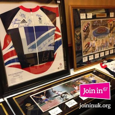 London 2012 Memorabilia Sale - signed merchandise