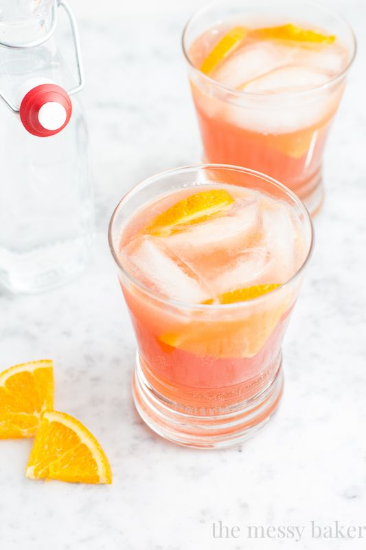 Cranberry-Orange Spritzer | Recipe | Spritzer Drink, Vanilla Vodka and ...
