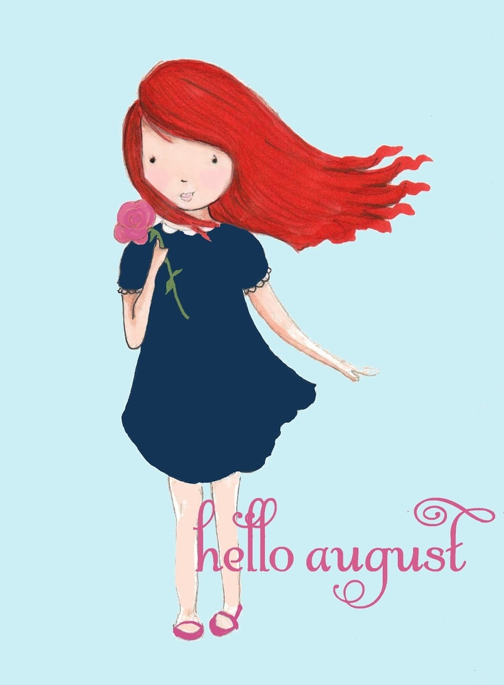 Rose Hill Designs: Hello August #HelloSummer #Seasons #Months