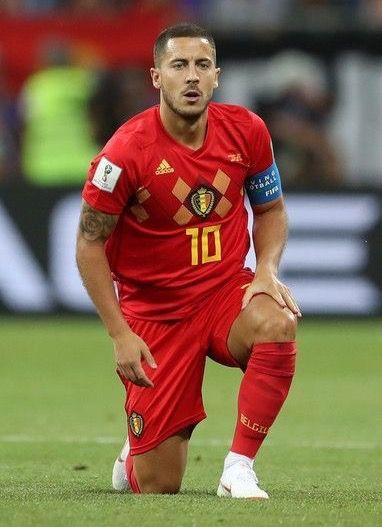 12fa02ab6fd8 Eden Hazard ~ Belgium  10 (2018 FIFA World Cup)