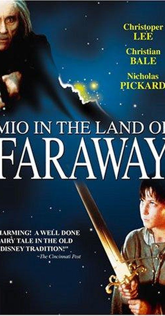 Directed by Vladimir Grammatikov.  With Nick Pickard, Christian Bale, Timothy Bottoms, Susannah York. A fantasy about the lonely boy who is transferred from his dull life with his adoptive parents to the land where his real father is the king. In that country he sets out on a quest, together with his new friend, to destroy the evil Knight Kato.