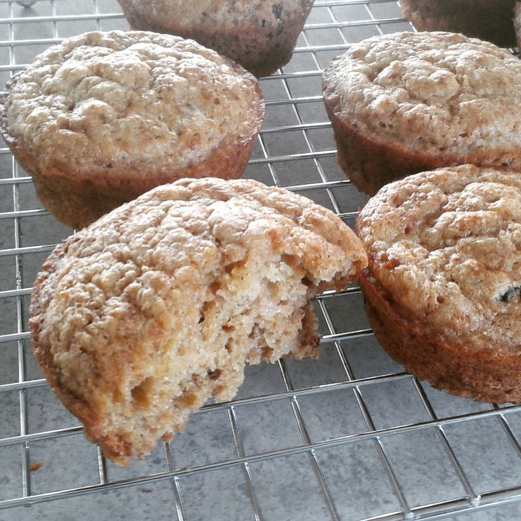 Banana, Spelt and Wheatgerm Muffin – The Big Lunchbox Revolution