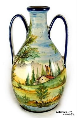Italian Ceramic bottle jug
