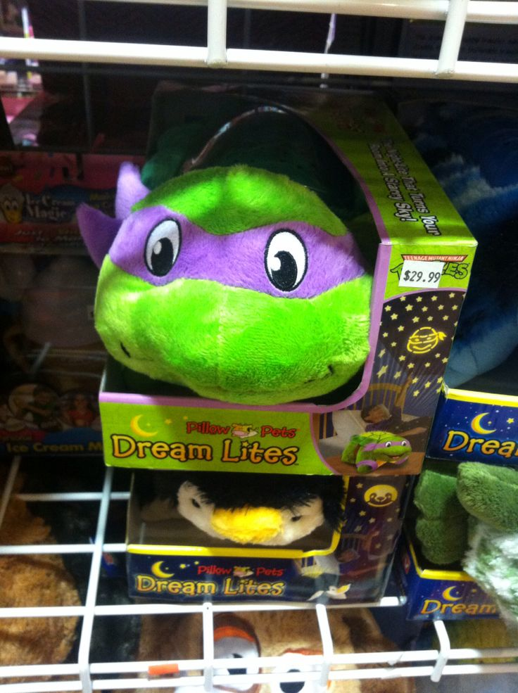 Animal Pillows Toys R Us : TMNT pillow pet. Toys R Us Santa Can You Please... Pinterest