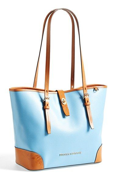 Dooney & Bourke leather tote! Perfect for spring!