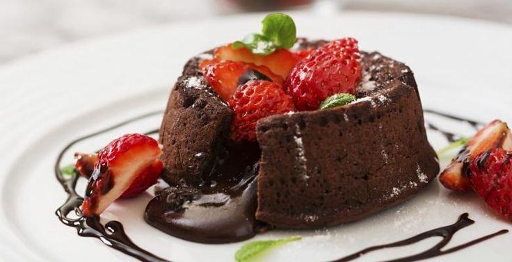 petit gâteau au coeur coulantun dessert qui fait rêver