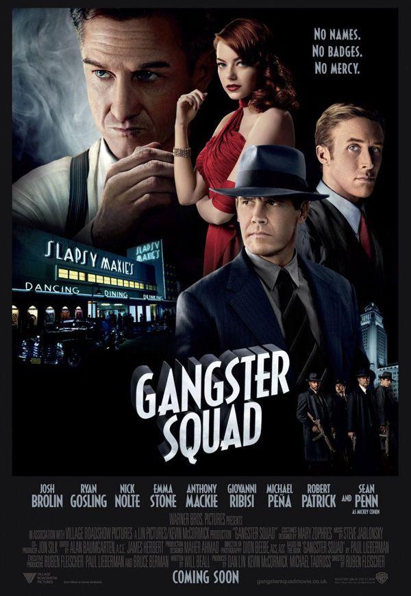 Gangster squad (2012) (Blu ray) ******************************************** Los Angeles, 1949. Mickey Cohen, originaire de Brooklyn, est un parrain impitoyable de la mafia qui dirige la ville et récolte les biens mal acquis de la drogue, des armes, des prostituées et de tous les paris à l'ouest de Chicago. Tout ceci est rendu possible par la protection, non seulement des hommes de mains à sa solde, mais également de la police et des hommes politiques qui sont sous sa coupe…