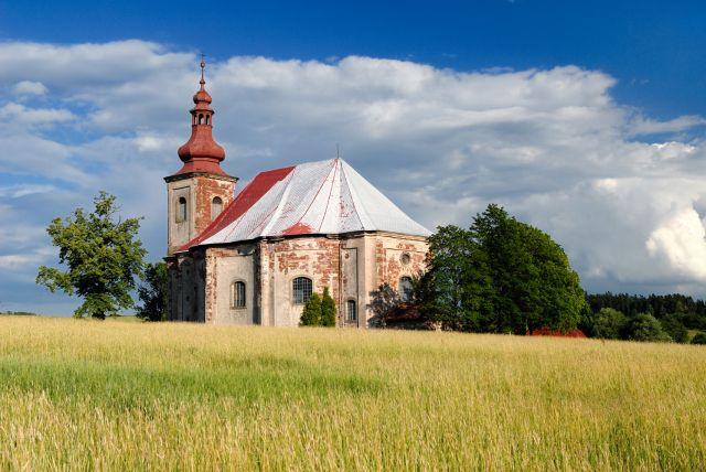 Kostel sv. Anny, Vižňov | broumovská skupina kostelů
