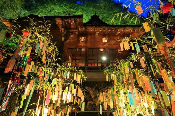 京都・貴船神社で「七夕笹飾りライトアップ」が開催中です | ことりっぷ
