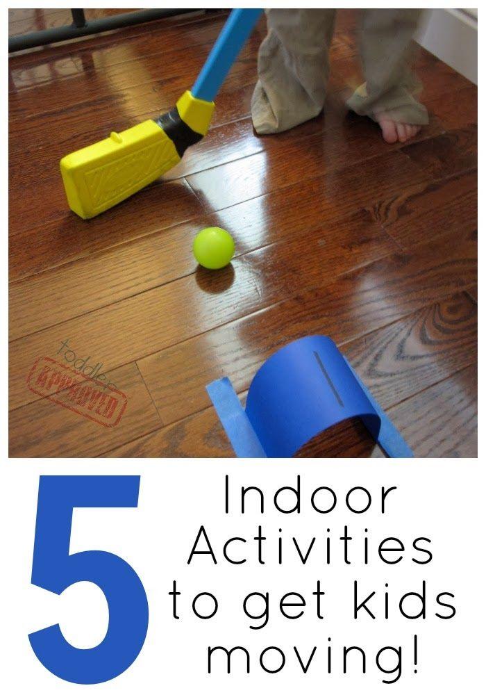Toddler Approved!: 5 Indoor Games To Get Kids Moving!