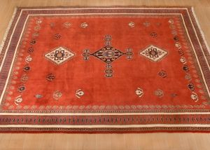 Alfombra Persa Clasica Ghashghaee 6.19 m2 (Shiraz Gabeh)