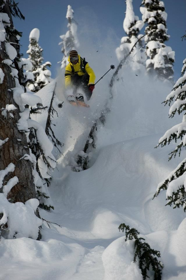 Andy Mahre Heli Skiing In BC