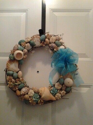 Seaside Potpourri Wreath