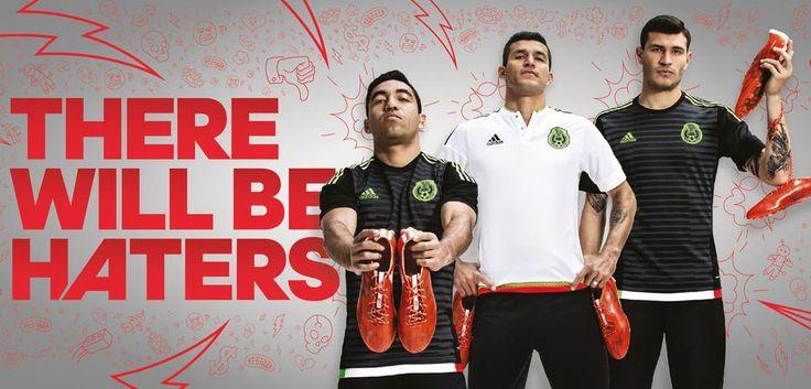 Camisa do México para a Copa América 2015 - http://colecaodecamisas.com/camisa-mexico-copa-america-2015/ #colecaodecamisas #Adidas, #Copaamerica2015