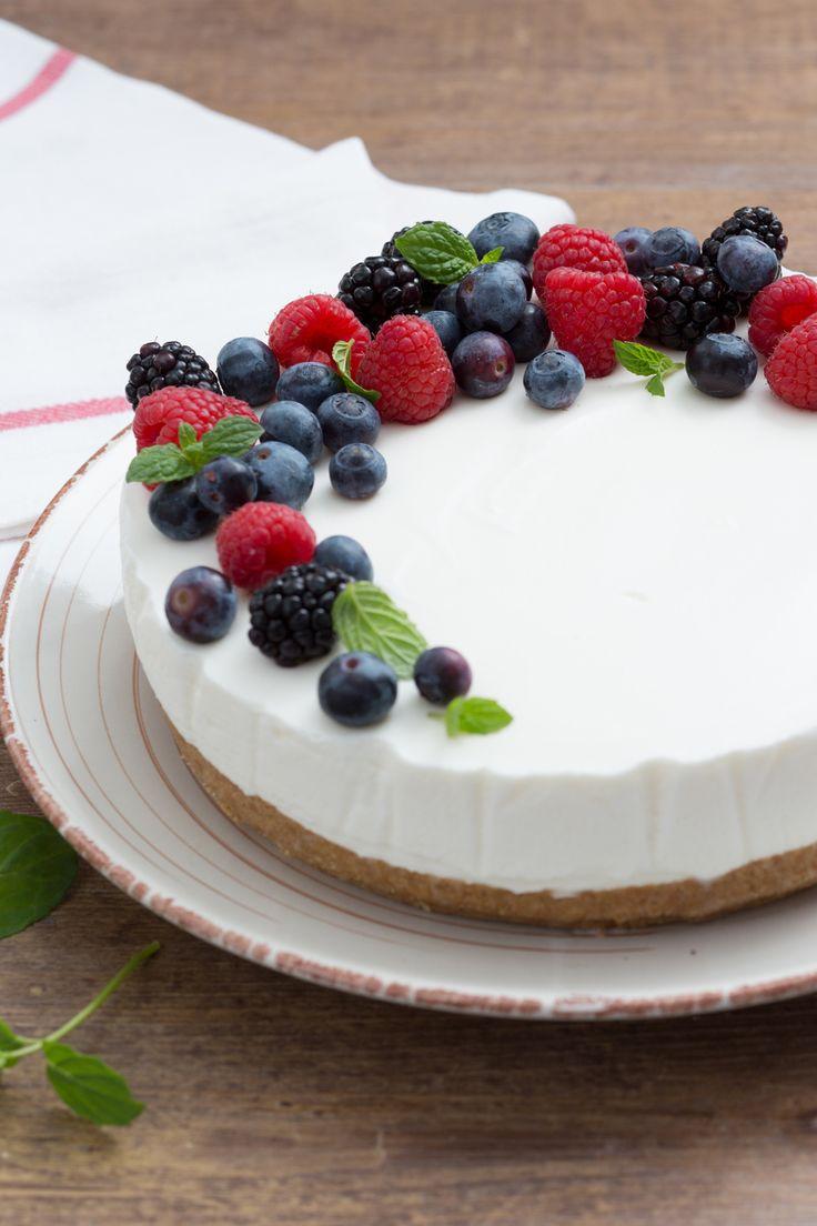 Torta fredda allo yogurt: facile, veloce, fresca e golosa!  [Yogurt cake]