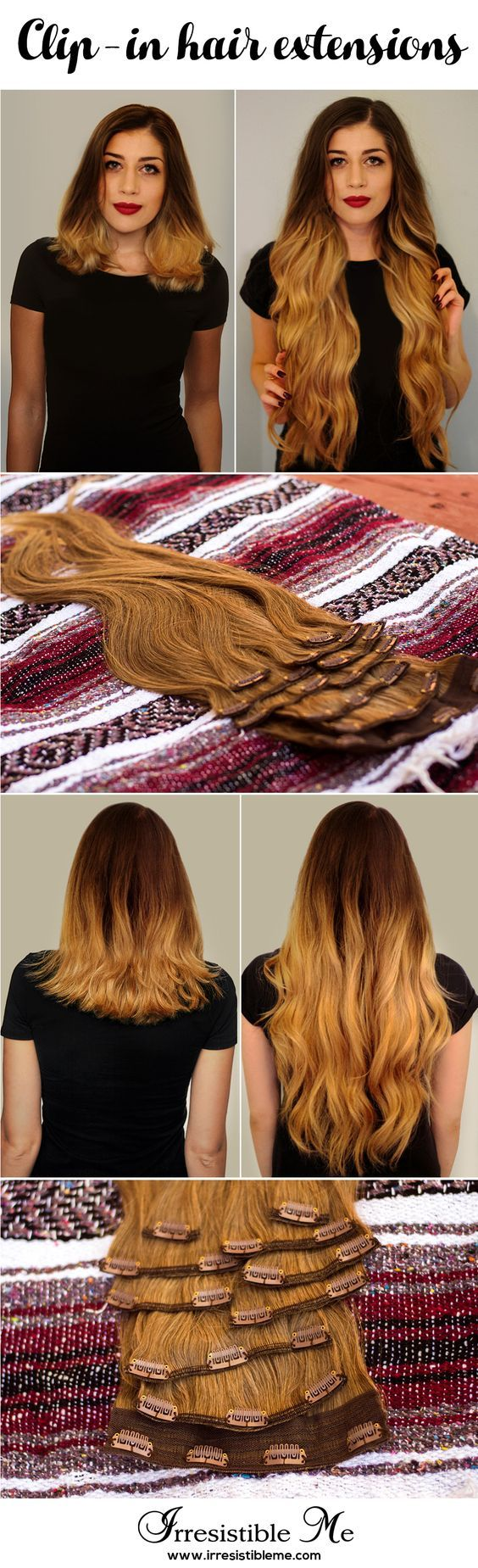 487 best irresistible me clip in hair extensions images on get long hair in less than 5 minutes with irresistible me human remy clip in hair extensions the before and after change is totally awesome and nobody will pmusecretfo Image collections