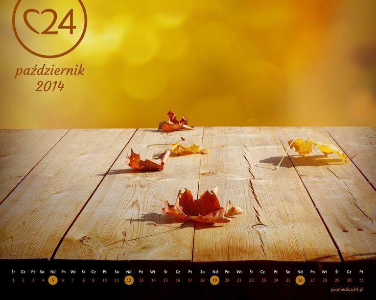 Promedica24 - e-kalendarz - Październik 2014 - 1280x1024