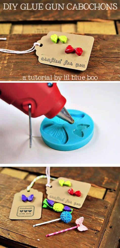 creare con la colla a caldo 10