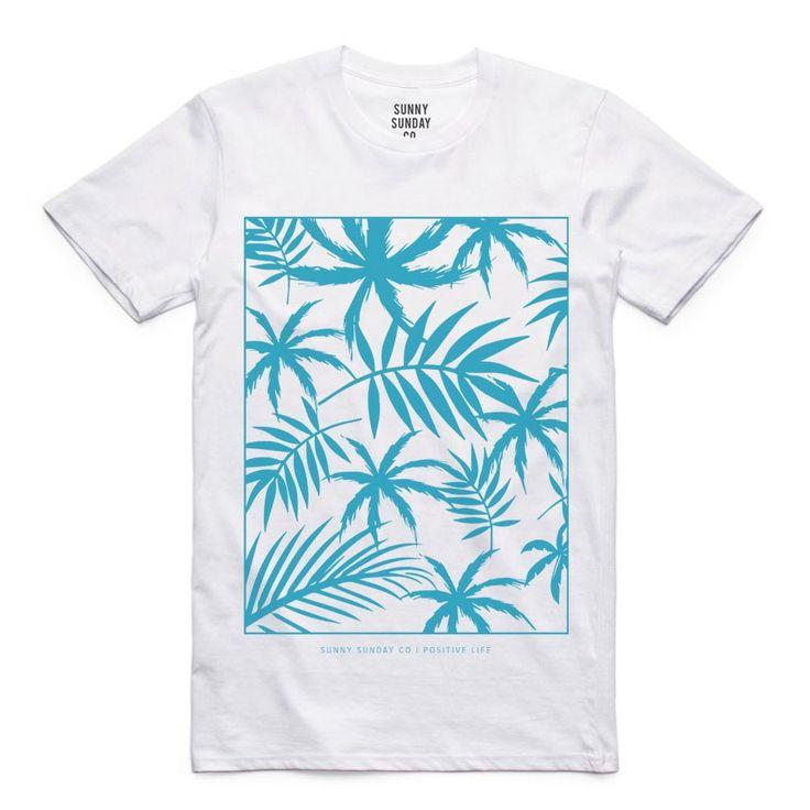 Camiseta Florida Sunny Sunday Tropical - #camiseta #camisetamasculina #camisetaflorida #fashion #surf