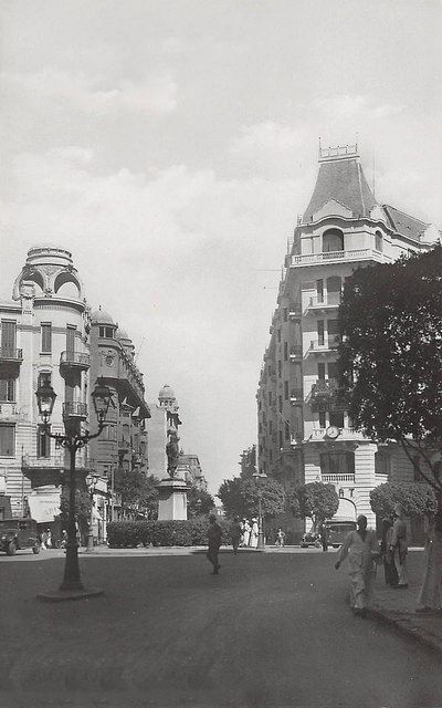 Street Scene of Soliman Pasha Square (Currently Talaat Har… | Flickr