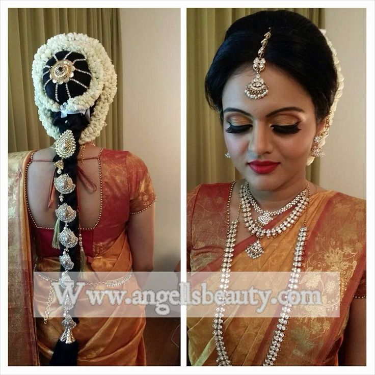 Our Traditional Tamil Hindu Bride Makeup And Hair With Dressing By Angell Liu Artist Tanbir S Wedding
