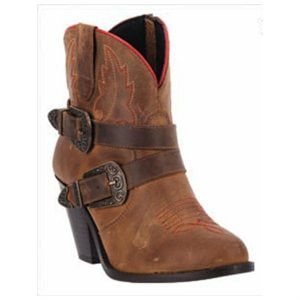 'Raise 'Em Up' Ankle Dingo Boots - Brown from Chocolate Shoe Boutique