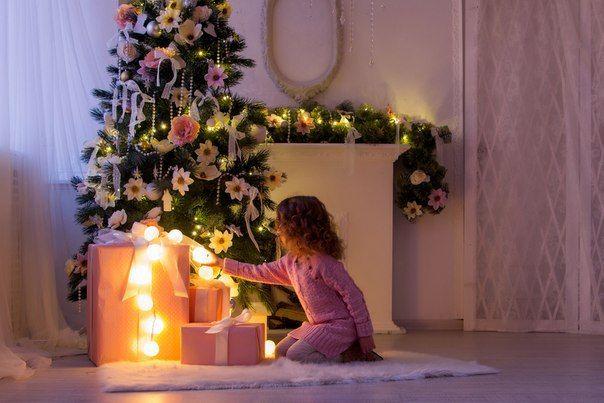 Гирлянда «Ivory» 35 шт. из хлопковых фонариков - любимый новогодний декор!