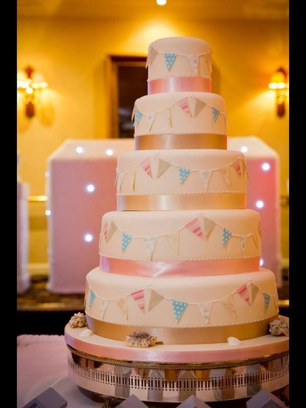 Bunting Cake For my next birthday 7
